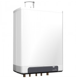 Intergas Kombi-Kompakt HRE 28/24 RF HR Combiketel met A-label pomp 7,6 - 23,4 kW CW4